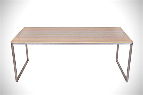 Skateboard Table by Deckstop Recycled Skateboard Table Hiconsumption