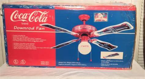 1997 coca cola ceiling fan coca cola ceiling fan for sale classifieds