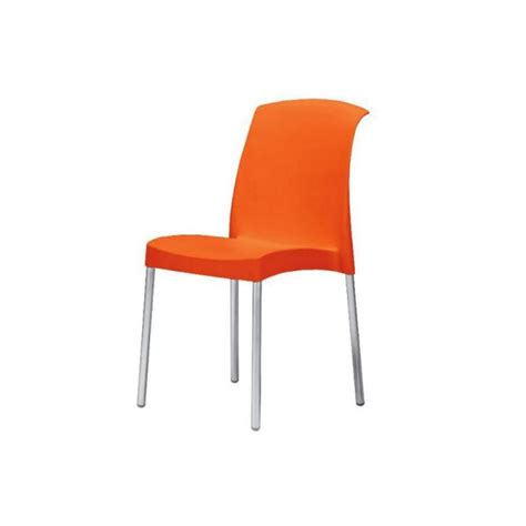 sedie arancioni arredare il bar arredamento locali contract