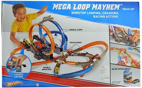 Hotwheels Loop Race wheels mega loop race track vehicle play set mega loop race track vehicle