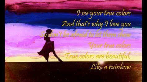 true colors cyndi lauper lyrics cyndi lauper true colors lyrics www imgkid the