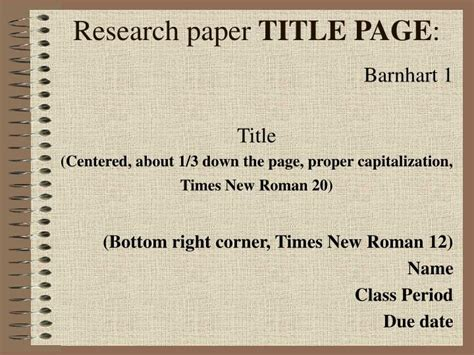 how to title a research paper powerpoint presentation research paper niek der