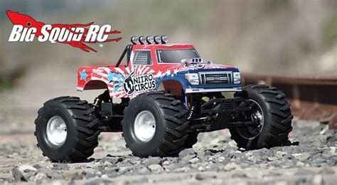 nitro circus rc monster basher nitro circus mt 6 171 big squid rc rc car and truck