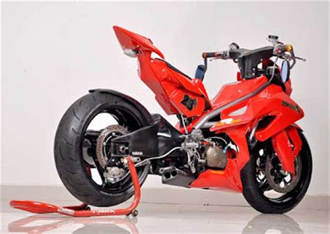 Lu Depan Orisinil Yamaha U5 modifikasi jupiter z keren dari motor plus oto trendz