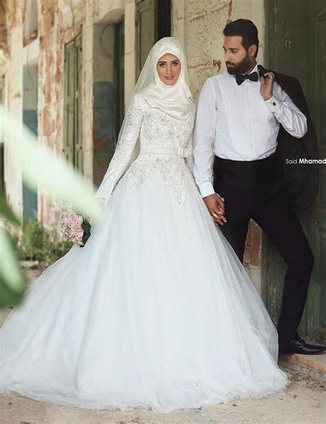 Dresslong Dress Cerry Black Diskon saudi arabia muslim wedding dress 2016 sleeve