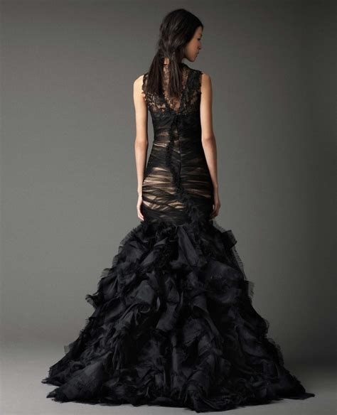 2015 Wedding Dress Trends : Black!   Fashion Fuz