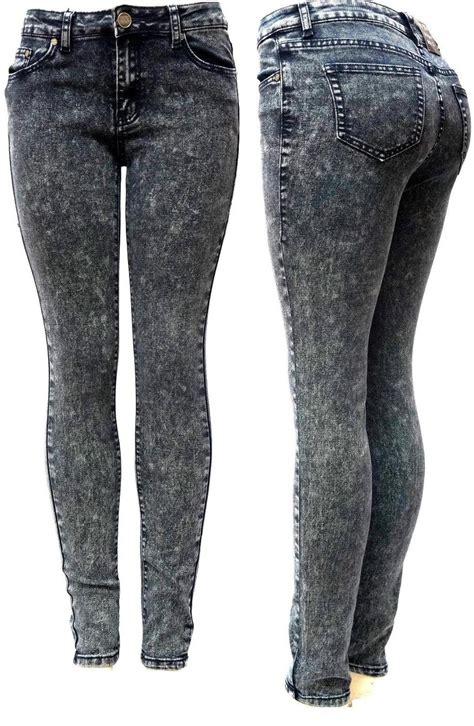 Perimum Premium Celana Wanita Stretch Soft Black yes me premium soft stretch black acid wash denim leg at s