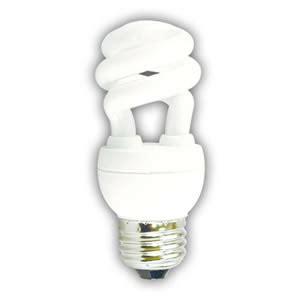 Low Watt Light Bulbs by 5 Watt Tiny Twist Ultra Mini Spiral Cfl 27k Low Mercury