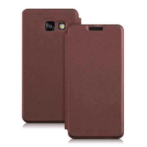 Mofi Leather Samsung Galaxy A3 kwmobile flip cover for samsung galaxy a3 2016 leather