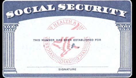 ssn card template social security card back template www imgkid the