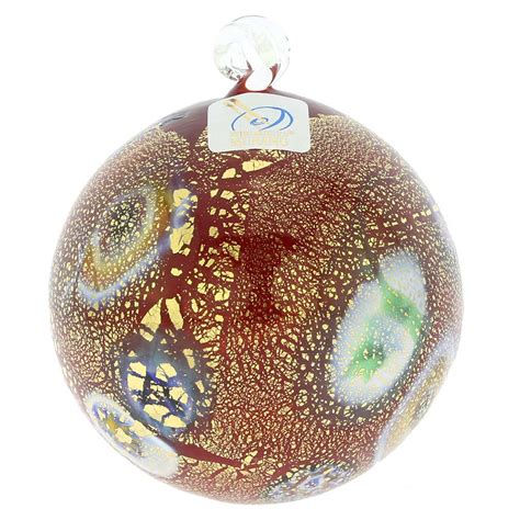 christmas tree ornaments murano glass medium millefiori