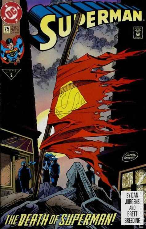 from superman to books superman comic books issue 75