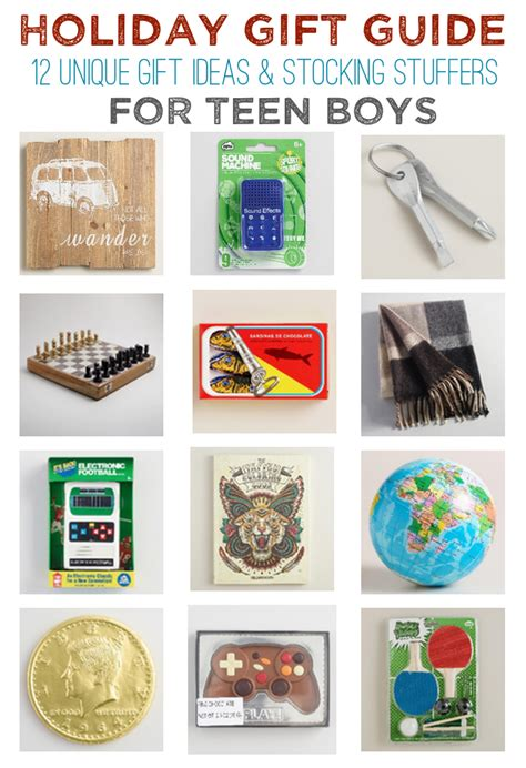 12 unique gift ideas for teen girls and boys made in a day