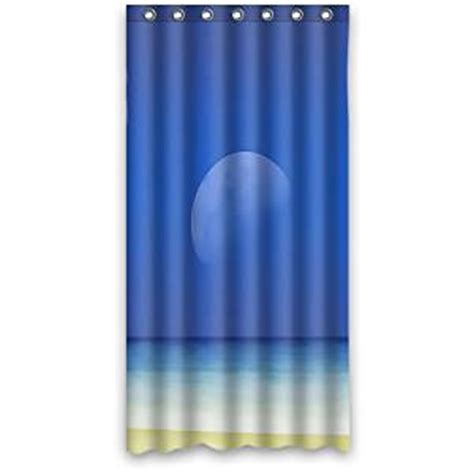 36 Inch Shower Curtain by Custom It Design Stall Mildew Resistant