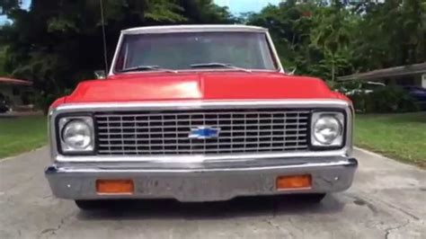 72 Chevrolet Truck For Sale For Sold 72 Chevy C10 Chucksee