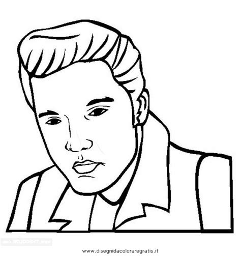 pin elvis presley coloring pages image search results on
