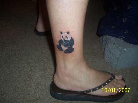 panda ankle tattoo 25 sweet panda tattoo design collection