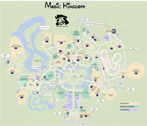 printable map locations 33 best disney world maps images on pinterest disney