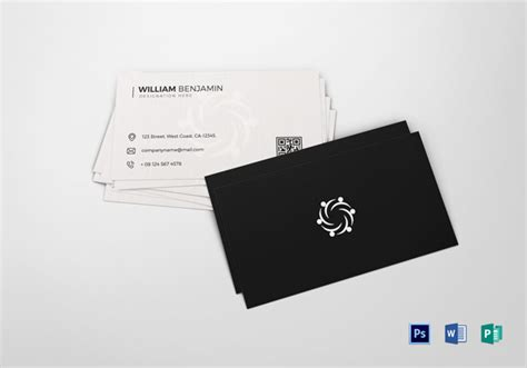 personal card templates for use with word 30 minimalistic business card designs psd templates