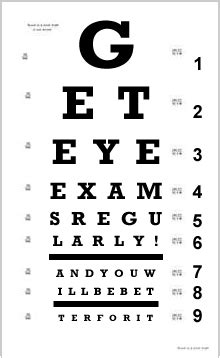 eye chart child visionary eyecare s blog quot the eye journal quot eye exams can predict and prevent serious disease