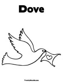 dove coloring page dove coloring pages 171 free coloring pages