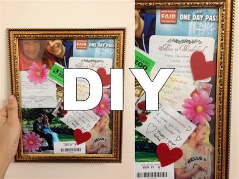 Diy Anniversary Gifts For Him Photo Collages Anniversary Gifts