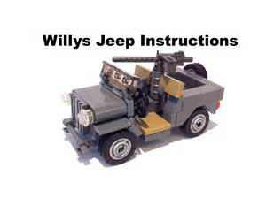 How To Up A Jeep Lego Willys Jeep
