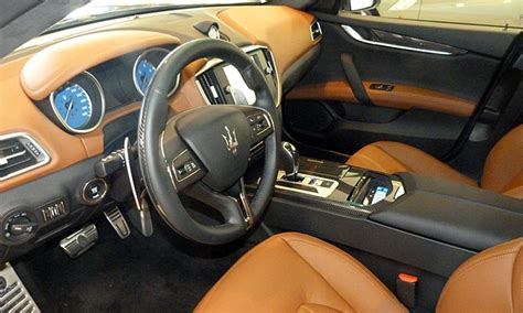 maserati ghibli brown interior maserati ghibli photos maserati ghibli interior in saddle