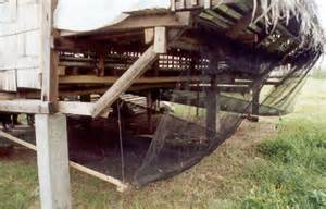 Efficient House Plans farmer designed elevated goat pens and contraptions to