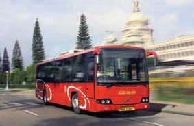 volvo  supply  city buses  bmtc