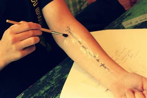 how to make fake tattoos 25 beautiful make tattoos ideas on diy