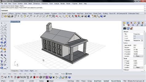 3d House Drawing rhino 5 for sketchup users on vimeo