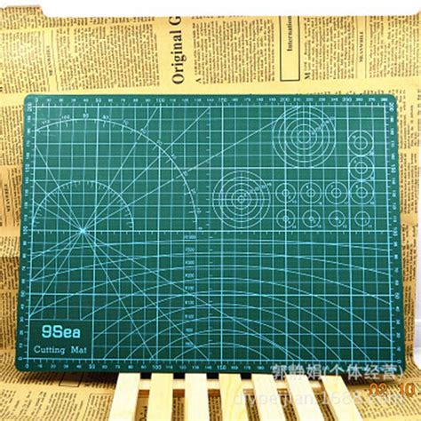 a3 cutting mat 45 30cm manual diy tool cutting board sided available self healing cutting
