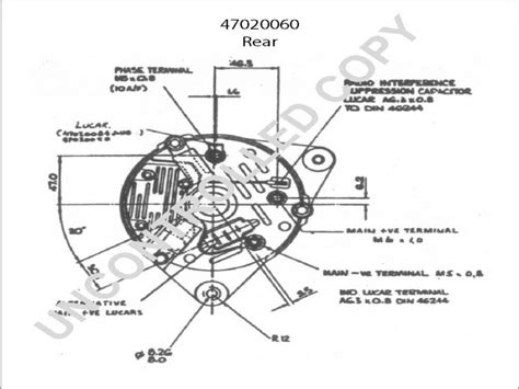 lucas a127 alternator wiring diagram wiring diagram with