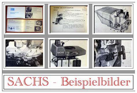 Sachs Motor Betriebsanleitung by Sachs 50 Saxonette Motor Betriebsanleitung Ca 1969 Ebay