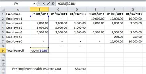 Formula To Calculate Total Cost In Excel Excel Datedif Calculating Date Difference In Days Employee Cost Excel Template