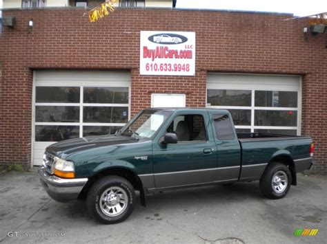 1998 emerald green metallic ford ranger xlt extended cab 72826759 gtcarlot car