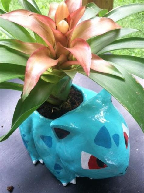 Bulbasaur Planter by Bulbasaur Flowerpot 01 By Kitsune Roka On Deviantart