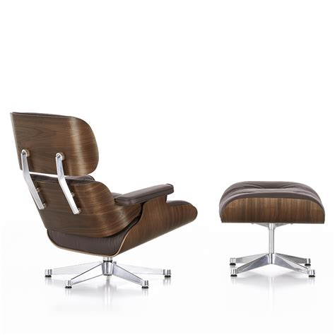 eames lounge chair black vitra eames lounge chair ottoman black pigmented walnut