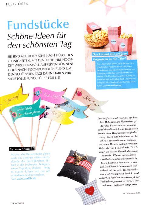 Hochzeit Das Magazin by In Der Presse Www Ringkissen Shop