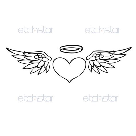 wings with halo tattoo designs design inspiration dancamacho design design like