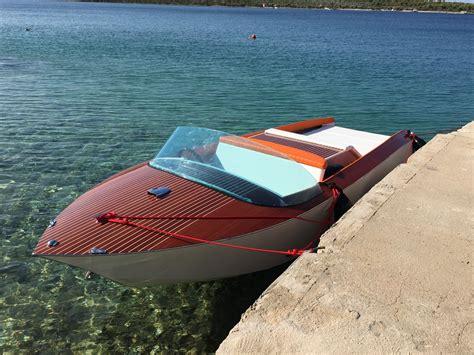 italian wooden boat plans liso barca italian wooden runabout boat design net