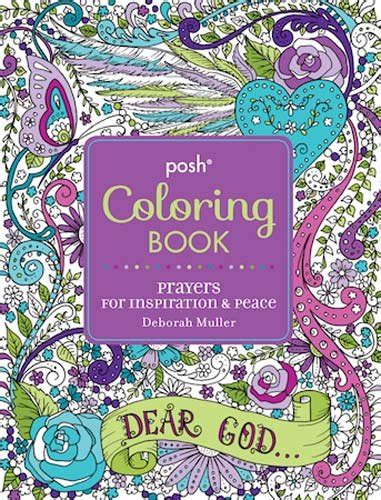 posh coloring book review posh coloring book prayers for inspiration peace