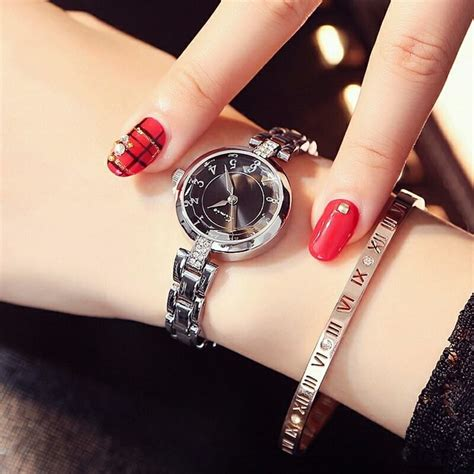 fb watch red nail paint with awesome watch on hand best fb dp hd