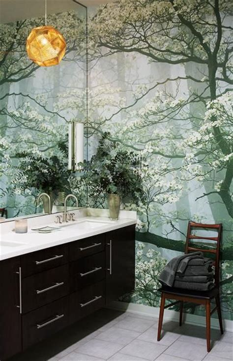 wall murals for bathrooms beautiful wall mural white bathrooms