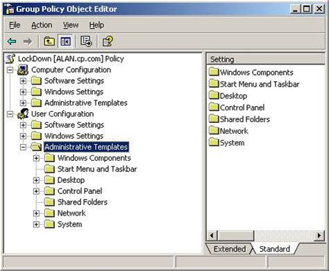 computer configuration administrative templates policy administrative templates microsoft policies