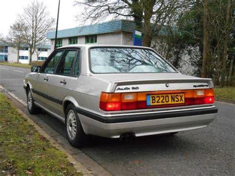for sale 1985 audi 90 quattro classic cars hq