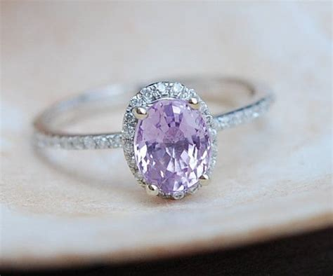 Pink Sapphire 2 64ct 17 best images about oval engagement rings by
