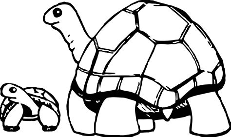coloring pages baby turtle mom and baby turtle coloring coloring pages