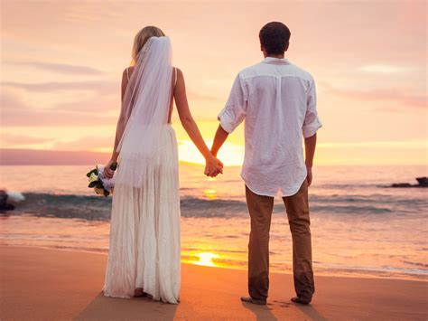 love couple   married sea beach sunset hd love